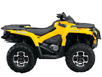 2013 Can-Am Outlander XT 500 ATV pictures 3
