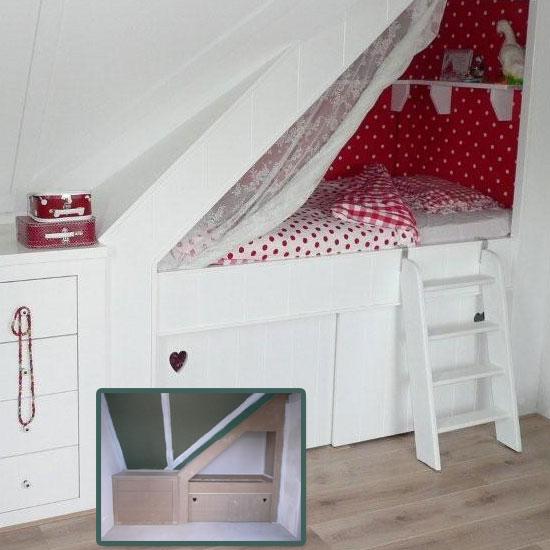 Belevenissen van een stadsmuis knusse bedjes - Stapelbed kleine kamer ...