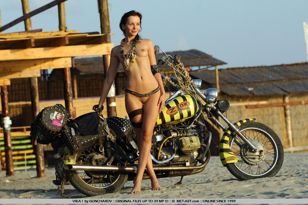 эрофото на мотоцикле