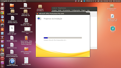Instalando o Office 2010 no Ubuntu pelo WINE+Playonlinux