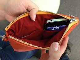 Everpurse.Bolso cargador para iPhone