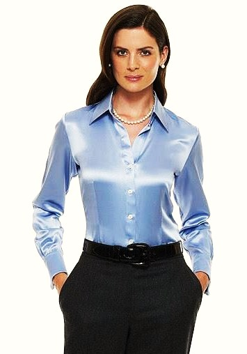 Model Women Wearing Blouse Casual Blouse For Middle Aged Women  Buy Blouse