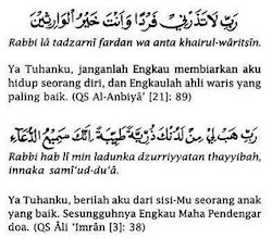 :: Doa untuk anak yang soleh ::