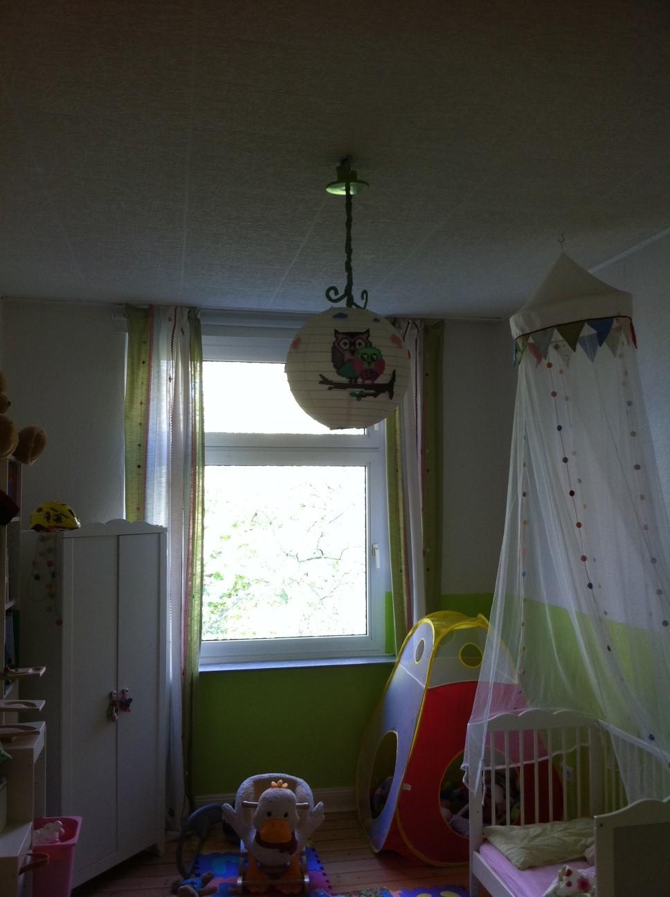 freebooktratsch 13 lampenschirm mit b gelperlen mamahoch2. Black Bedroom Furniture Sets. Home Design Ideas