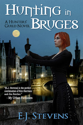 Hunting in Bruges Hunters Guild paranormal urban fantasy by E.J. Stevens