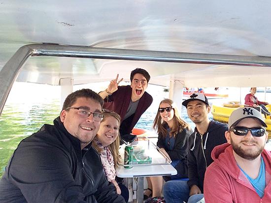 boating in Houhai