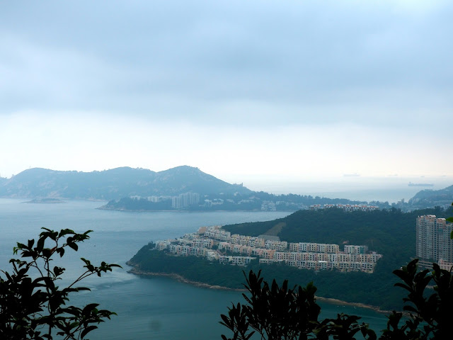 View of Red Hill, Stanley & Tai Tam Bay from Dragon's Back, Hong Kong Island