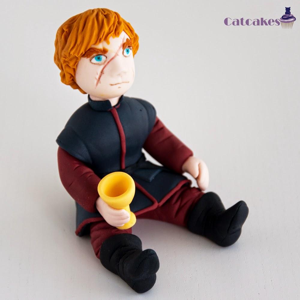 Modelado en fondant Tyrion