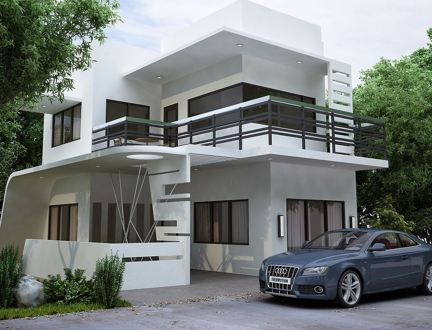 Modern home designs 2014 New model contemporary house