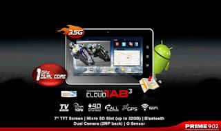 Harga Venera Cloud Tab 3 Spesifikasi, Tablet Dual Core 1 Jutaan