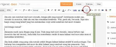 Cara Mudah Membuat Read More Manual Tanpa HTML