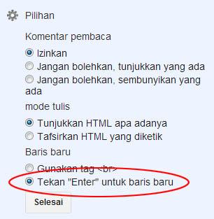 Membuat Contact Form Blogger di Halaman Statis