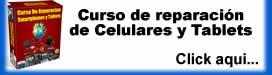 Curso Reparación Celulares y Tablets