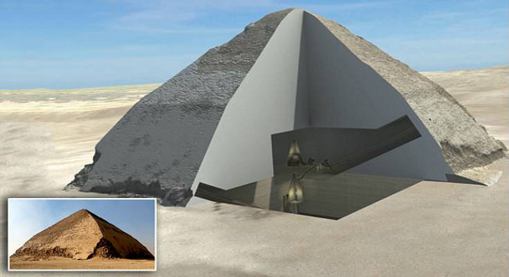 Κοσμικά σωματίδια «ξεκλειδώνουν» τα μυστικά δωμάτια των Πυραμίδων