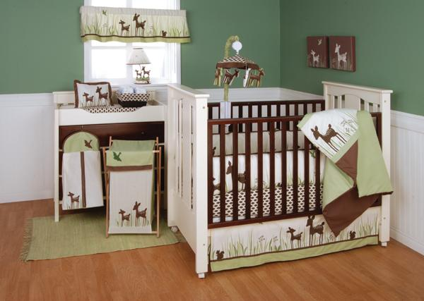 Willow Organic  Piece Baby Crib Bedding Set By Kidsline