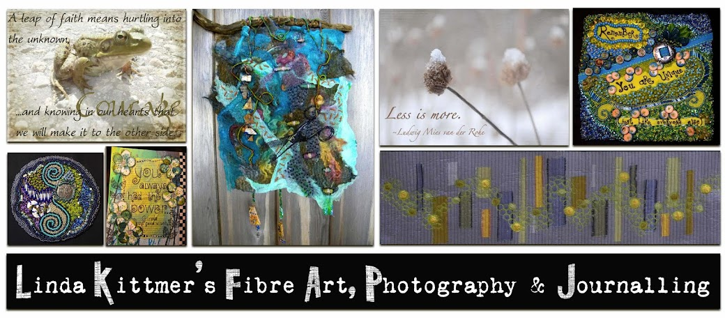 LINDA KITTMER&#39;S FIBRE ART, PHOTOGRAPHY &amp; JOURNALLING