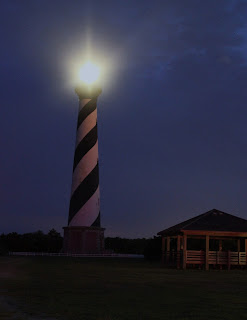 OBX, lighthouse, North Carolina