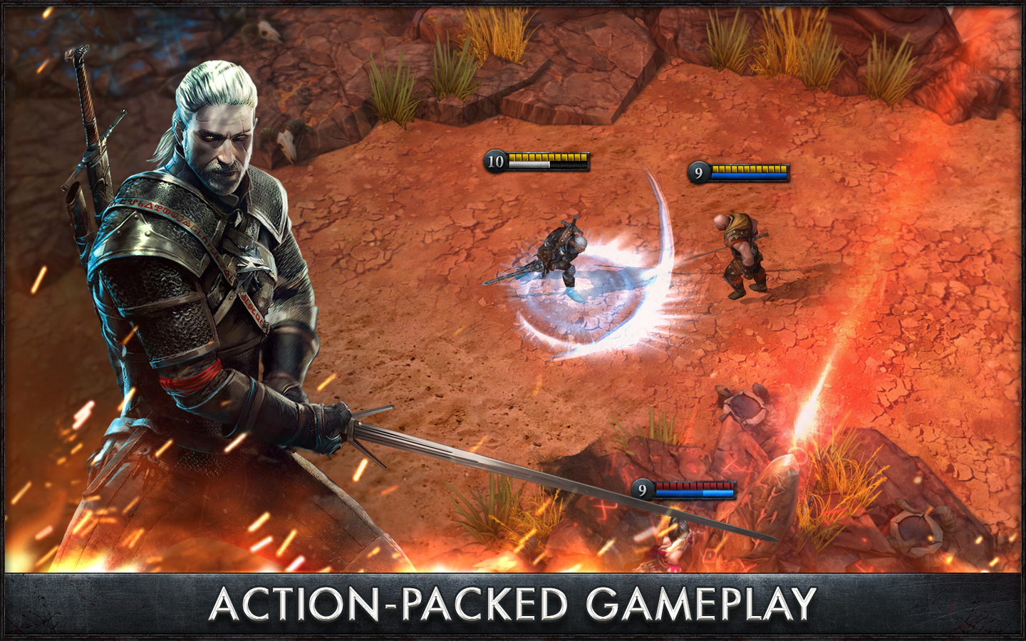 The Witcher Battle Arena 1.0.4 MOD APK (Heroes Unlocked)