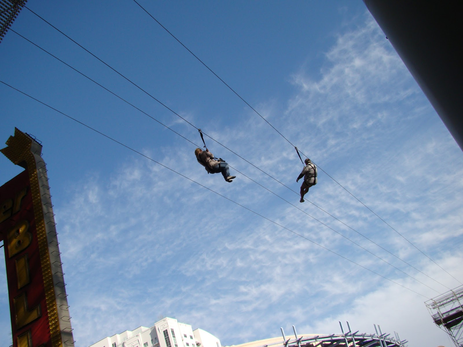 Are We There Yet!! My Travel Blog: Las Vegas Fremont Street Zip Line