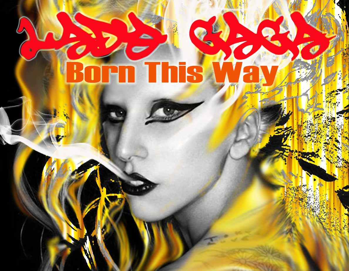 digital art lady gaga born this way. Black Bedroom Furniture Sets. Home Design Ideas