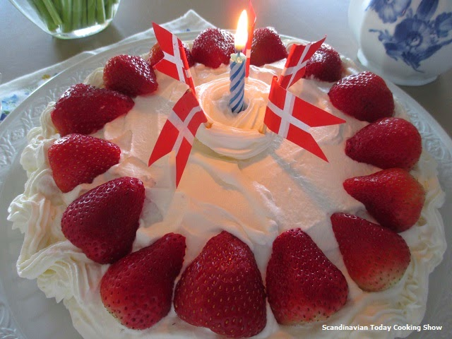 Scandinavian Today Cooking Show How To Make A Danish Birthday Cake