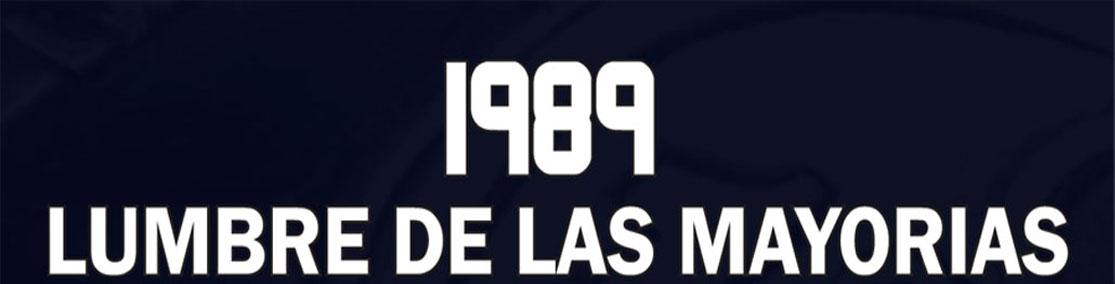 1989 Lumbre de las Mayorías
