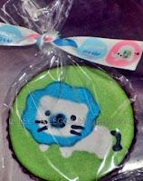 lion fancy cookies aqiqah door gift
