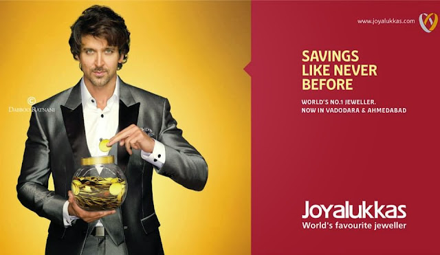 Hrithik Roshan For Joy Alukkas print ad