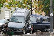 Los daños que dejó el temporal fueron millonarios. (Daniel Forneri) buenos aires bajo el agua