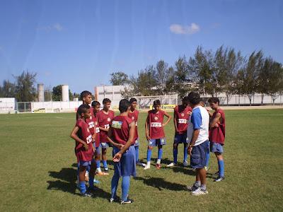 Sub-15 do Galo joga a última rodada da 1º fase do Estadual neste Sábado(11).