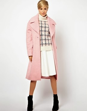 ASOS Vintage style cocoon coat, $225.08