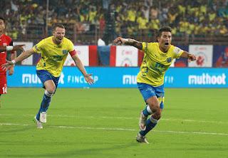 Kerala Blasters FC 3-1 NorthEast United FC