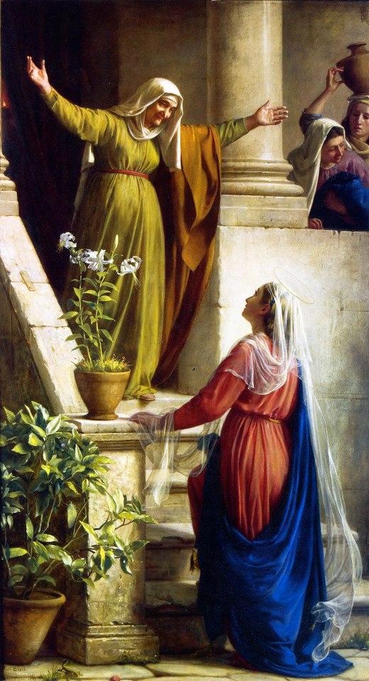 Ngày 31/5: ĐỨC MARIA THĂM VIẾNG BÀ ÊLISABÉT
