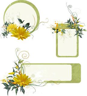 Frame Grunge Floral , frame background, kembang, bunga, floral, frame bunga, vektor