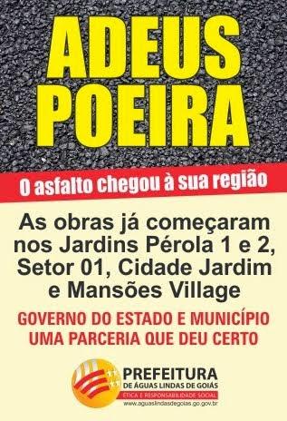 ADEUS POEIRA