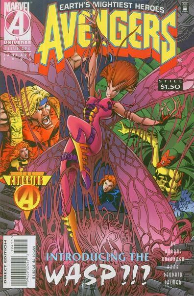 Avengers 394 Cover