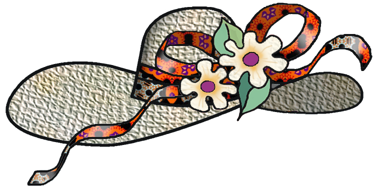 clipart easter bonnets - photo #43