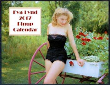 Eva Lynd 2017 Pinup Calendar