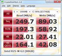 برنامج CrystalDiskMark لقياس سرعة الهارديسك