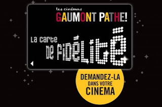 5 € la place de ciné au Gaumont Pathé les 12 et 13 novembre