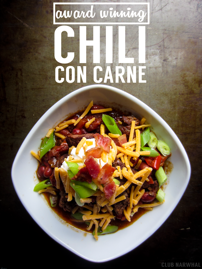 Award Winning Chili Con Carne | A slow cooker hit!