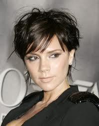 Les plus beaux modèles de coiffure 2012: Coiffures de Victoria Beckham