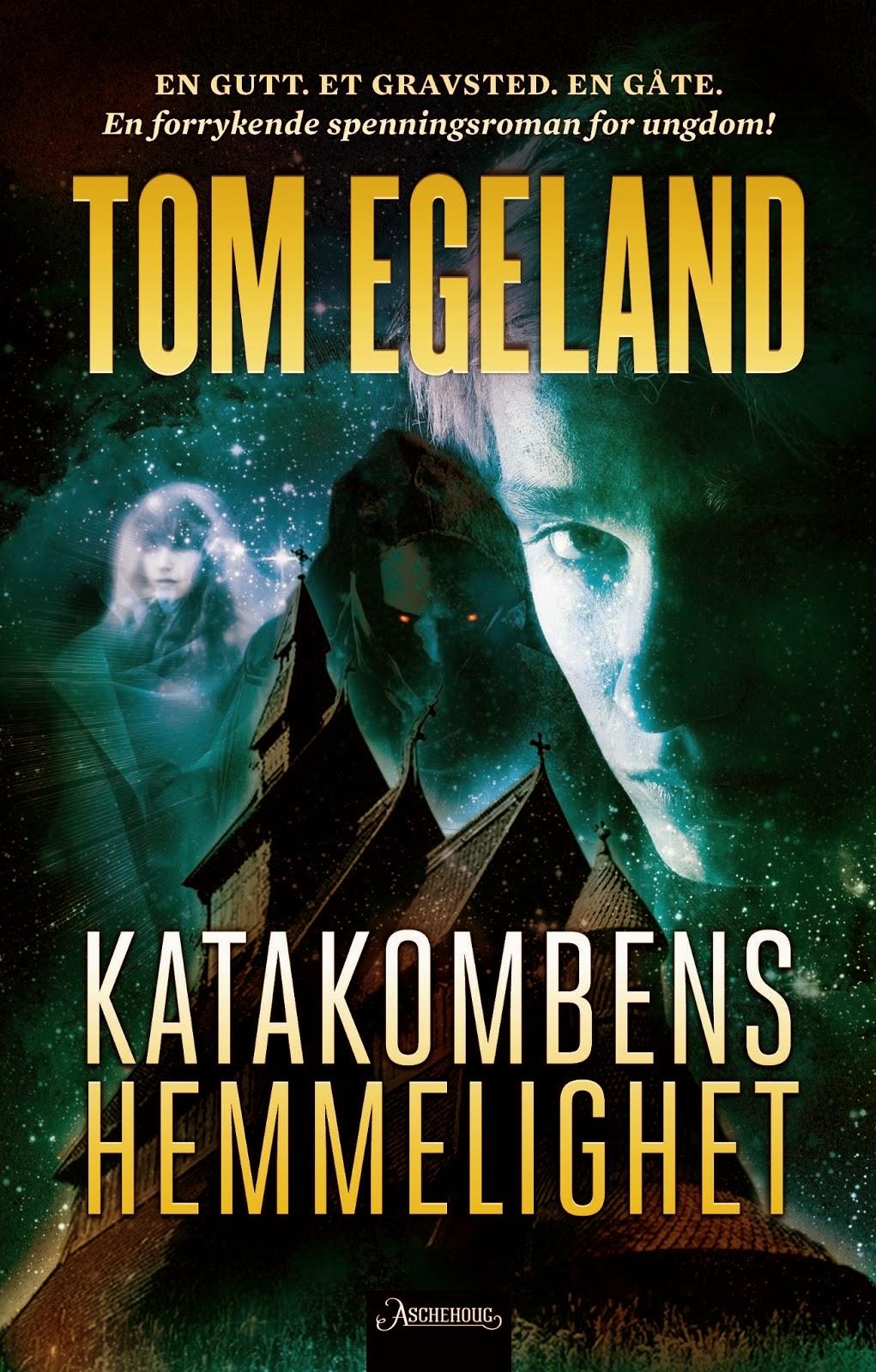 Bokhylla mi Katakombens hemmelighet av Tom Egeland