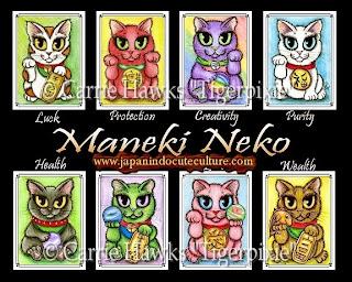"Maneki Neko ""招き猫"" Kucing Sangar"