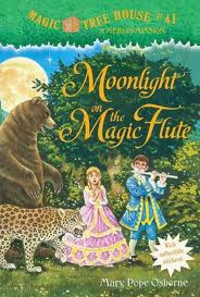 image: Magic Tree House: Moonlight on the Magic Flute  - mystery book review