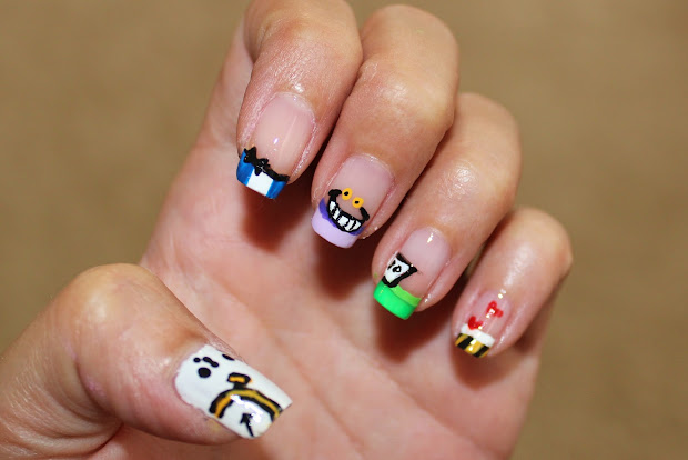 simple nail art newbies alice