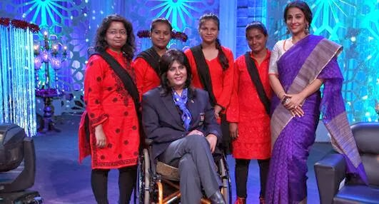 No More Kamzor show on Star Plus: Deepa Malik, Vidya Balan and team on the show