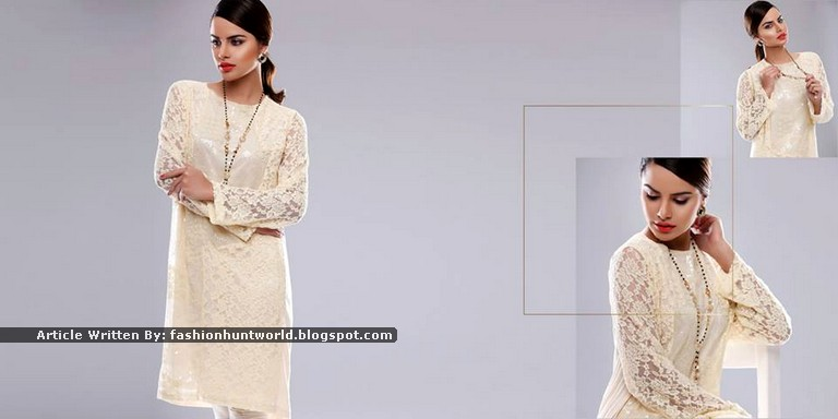 Nishat Linen Gold - Couture Dresses 2015