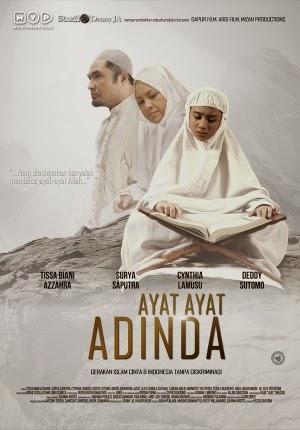 Sinopsis Film Ayat - Ayat Adinda (Terbaru 2015)