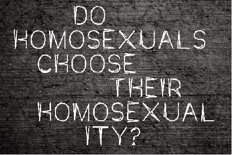 Why homosexuality a crime